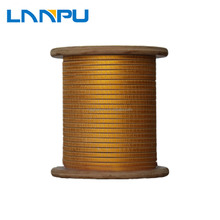 Double Fiber-Glass Covered Copper China Flat Fiberglass Insulated Wire