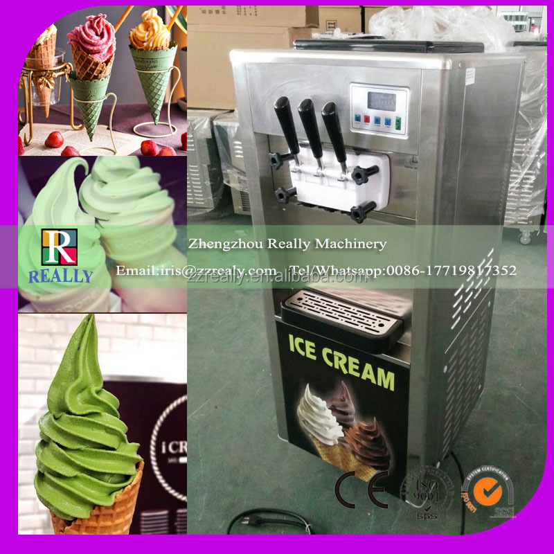 Newest designed commercial soft serve ice cream machine/taylor soft ice cream