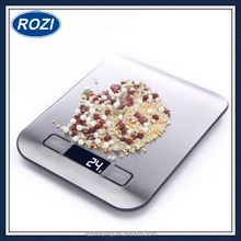 Stainless Steel Electronic Scales with LCD Display Portable 4 Different Measurement Units