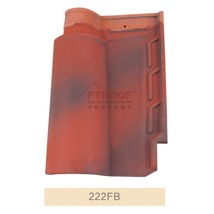 15mm kerala fiberglass clay roof tile prices with 4-5% Water Absorption