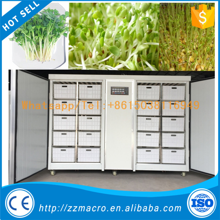newly invention seedling sprout machine/seeds sprouting machine/automatic mung beans sprout machine