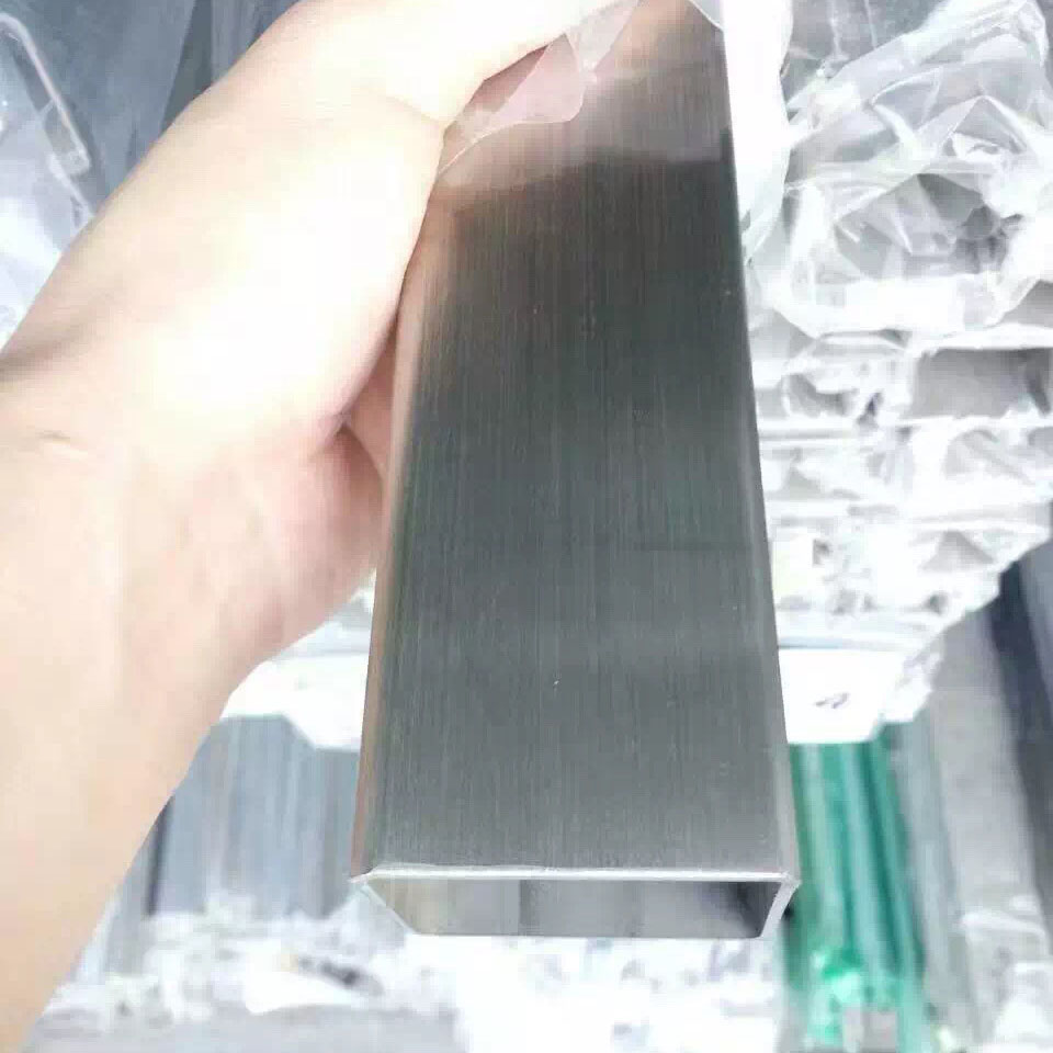 Condibe 316 SS seamless stainless steel square tube 6 mm