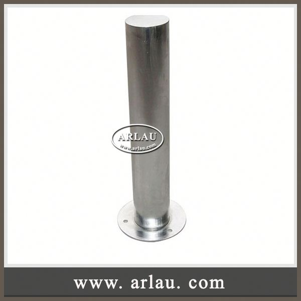 Arlau Stainless Steel Removable Parking Bollard, Fixed Removable Bollard, Parking Bollard / Security Post / Driveway Bollard
