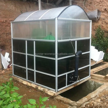 Sunrise small home biogas digester power plant for rural area to cook and light