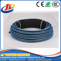 Anti - Slip 3000PSI Hydraulic Rubber Hose SAE 100 R17