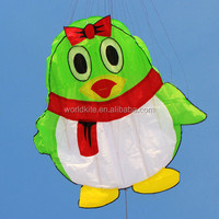 Lovely penguin soft inflatable kites