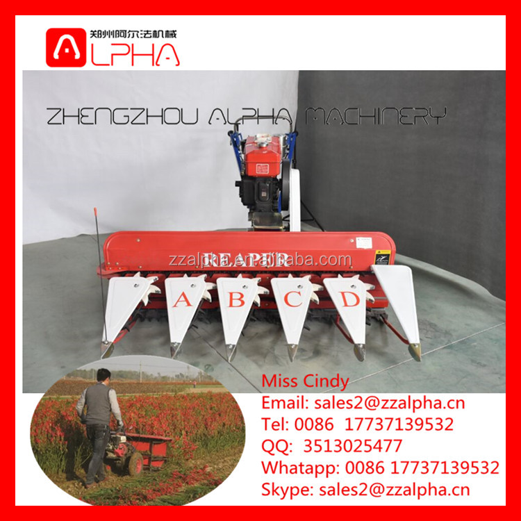 Farm walking machine for rice /rice reaper/alfalfa,reed, chili,capsium,pepper, and so on