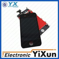 pink digitizer with lcd assembly for iphone 4
