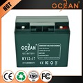 Eco-friendly featured recyclability 12V 17ah solar battery storage