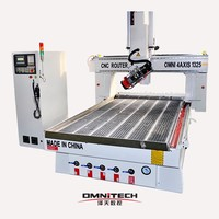 Jinan manufacture 4 axis cnc machine 1325 used in furniture industry