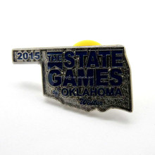 China supplier iron soft enamel State Games lapel pin