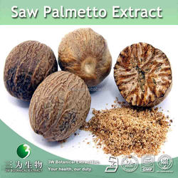 Natural Herb Medicine Saw Palmetto Dry Extract,Saw Palmetto Berry Extract Fatty acid 50% ~90%