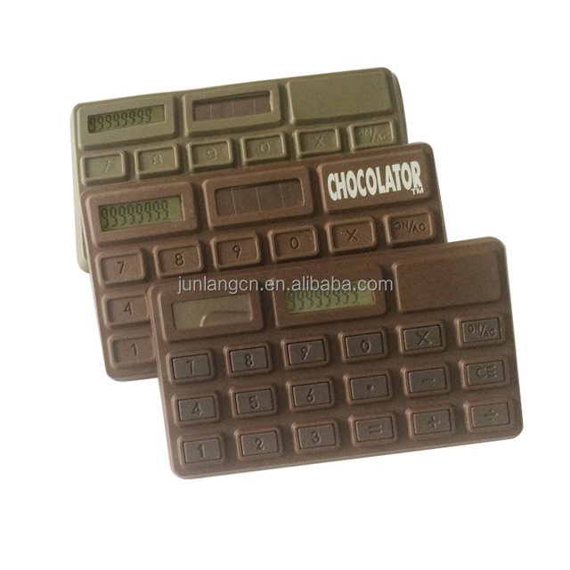 Smell of Chocolate Promotional Gifts Calculator Dual Power hot selling