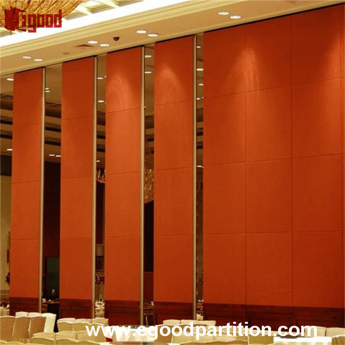 Egood operable partition wall sliding door for pavilion events show room