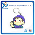 Logo Printed Promotional Silicone Keychain