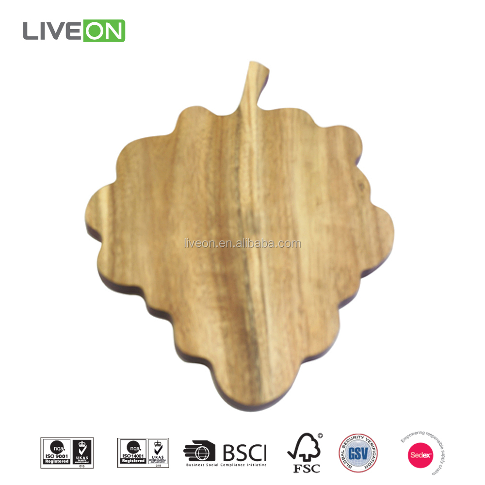 Fruit Shape Cutting Board, Cheese Cutting Board, Acacia wood Board
