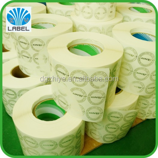 Printing custom car sticker, clear and durable roll labels, label printing machine roll sticker