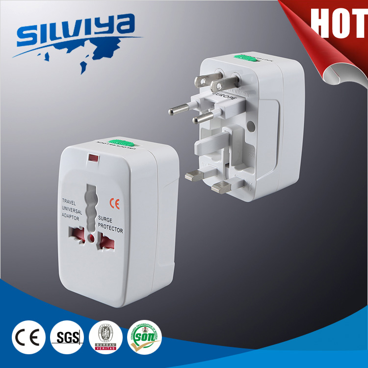 2016 usb universal travel adapter with usb port
