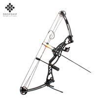 Dropship DS-A114 2019 Amazon hot sell durable and safe beginners compound bow archery