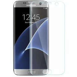 new premium silicon products for samsung galaxy s7 edge tempered glass/PET