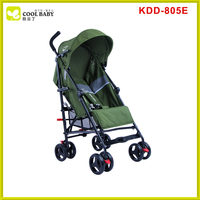 Popular Green Soft Fabric Pram Softtextile Stroller Baby