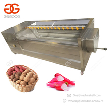 2017 Hot Sale Commercial Yam Taro Washer Carrot Peeler Potato Washing And Peeling Machine