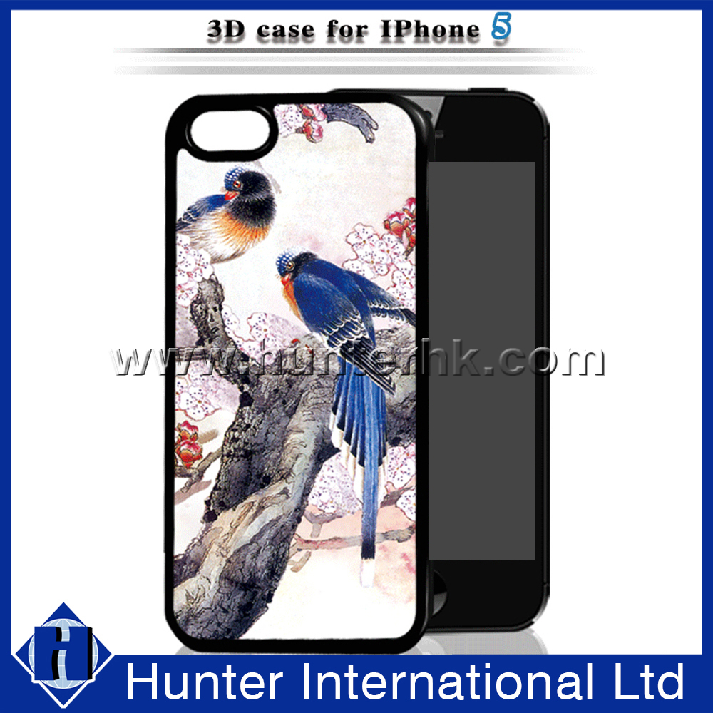 Fancy Birds Style 3D Cover For iPhone5