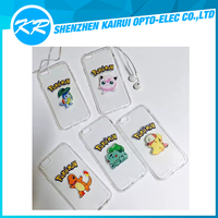 Cheap Mobile Phone Accessories Pokemon Transparency Cartoon Cute Case for iPhone6/6s/plus