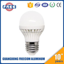 4W all plastic LED bulb light housing