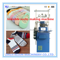 Best Seller Full Computerized Terry & Plain Invisible Ankle Socks Knitting Machine