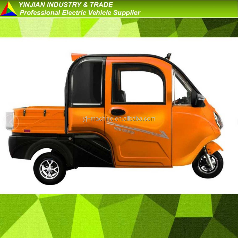 1000w,2000w Three Wheel Pickup Electric Trike Electric Tricycle adult Passenger Cargo