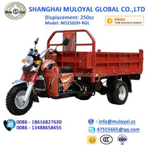 5 Wheel Motorcycle / Africa Hot Selling Double-Wheel Cargo Tricycle
