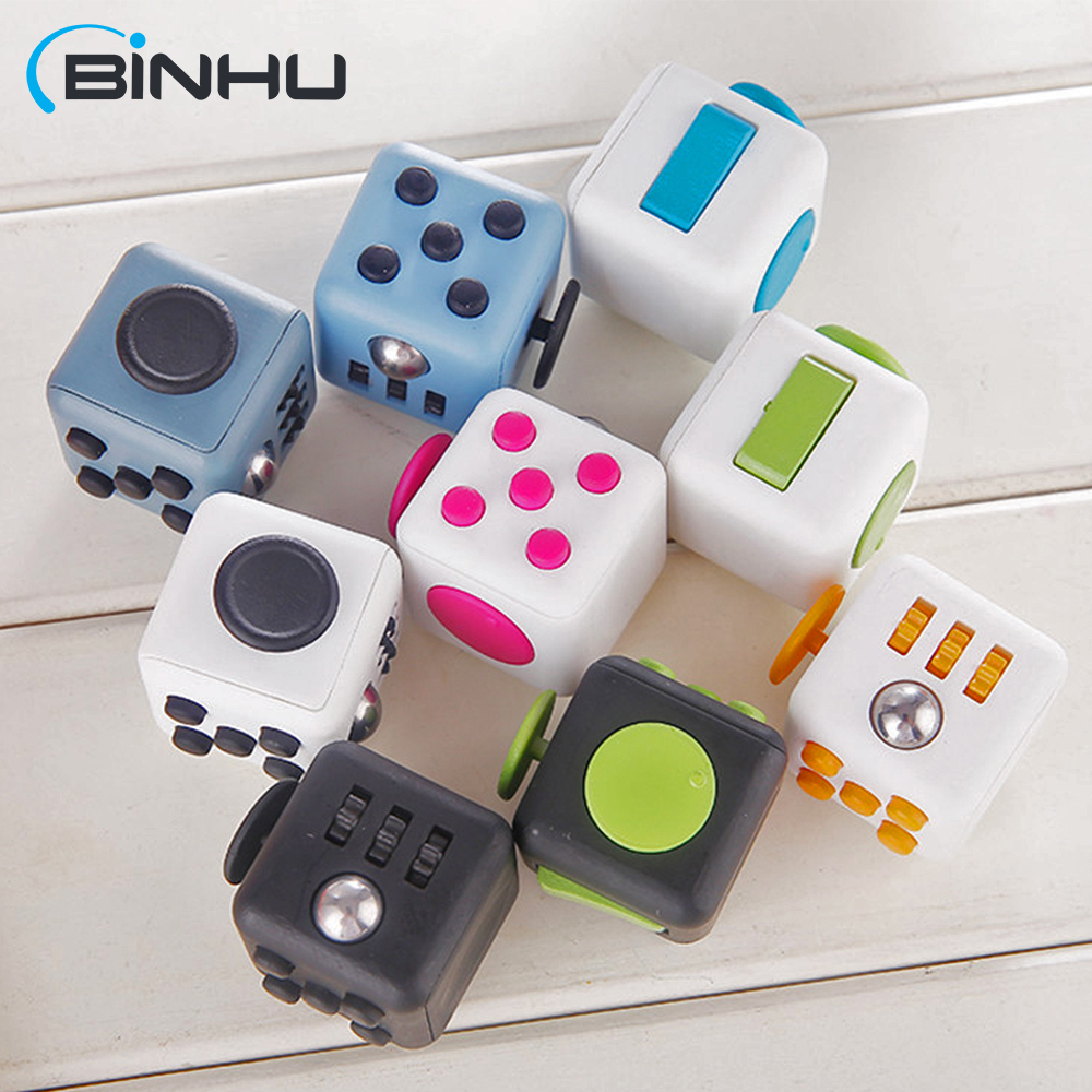 High Quality Fidget Cube for Christmas Gift Desk Toy in Stock