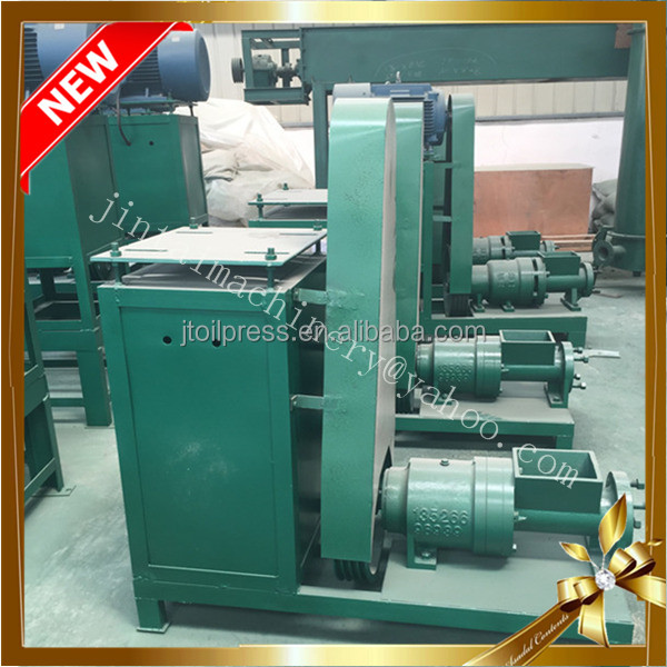 Multi function wood biomass charcoal briquetting machine