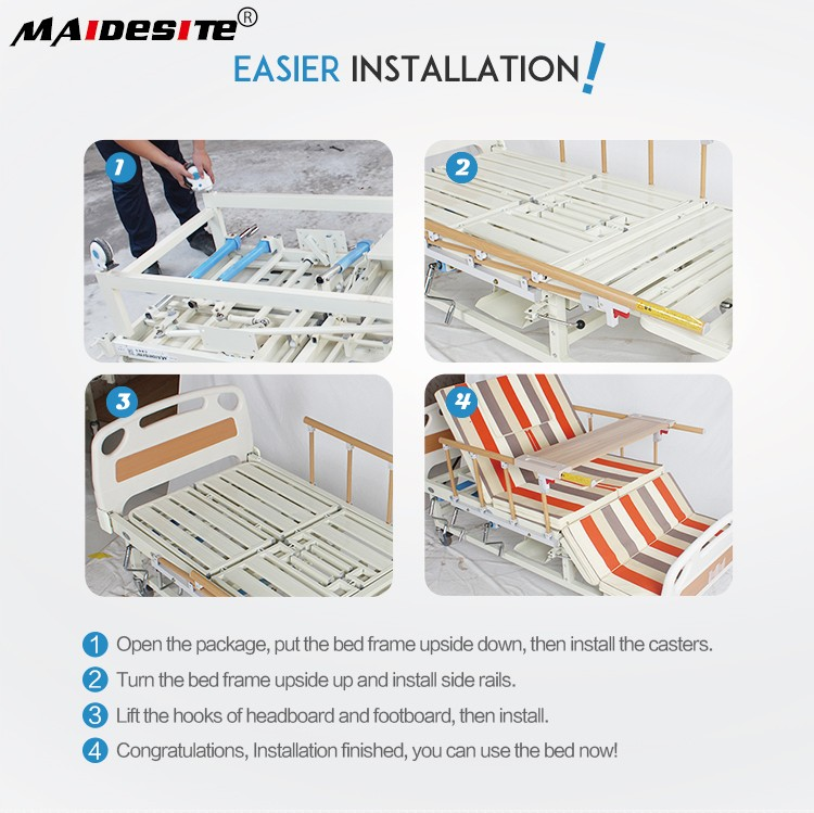 Alibaba widened electric rotating hospital beds at home for sale.jpg