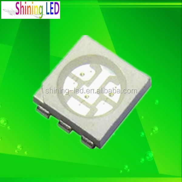 Light Emitting Diode half Watt PLCC-6 5050 SMD UV LED 365 nm 370 nm for Dental Curing