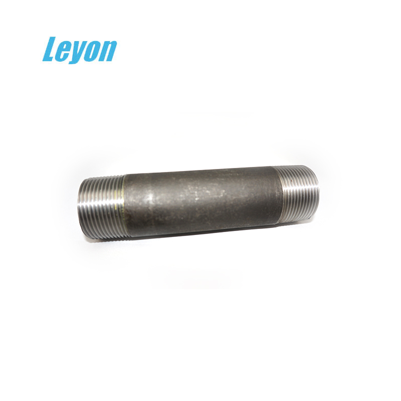 china-made equal hydraulic hose fitting hot galvanized long short nipple npt thread carbon steel barrel nipple