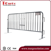 Foldable Metal Concert Crowd Control Barriers / Traffic Modular Barricade / Portable Event Temporary Barrier Fence