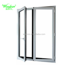 Manufactory's best price pvc sliding windows wholesale white color sliding upvc windows/doors for global building projects