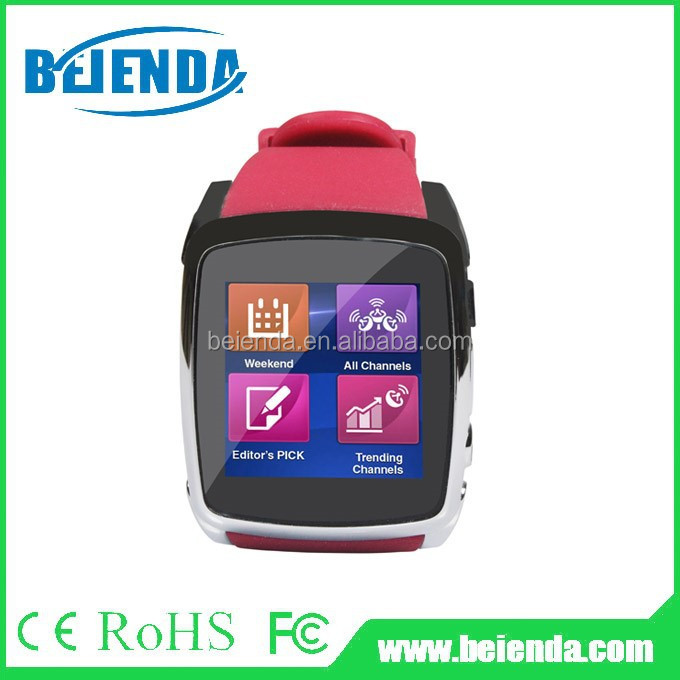 Bluetooth3.0 Wrist Smart Watch phone 3.0MP Camera For Android
