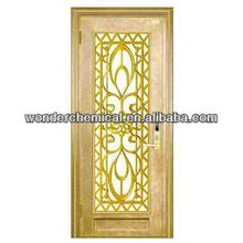 metallic gold powder coating for gate