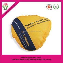 fashion waterproof promotional chpear polyester nylon bike saddle cover bike seat cover