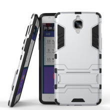 Wholesale 2 in 1 Iron Man Shockproof Kickstand Armor Phone Case For Oneplus 3 /One Plus 3