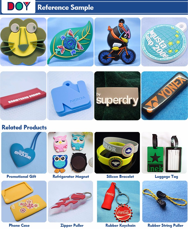 Cheap Humorous Custom Personalized 3D Logo Soft PVC Rubber Fridge Magnets for Promotional Gifts