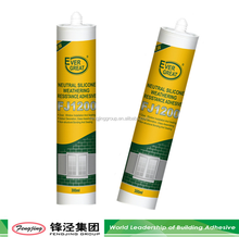 Building fire resistant 240ml grey high grade silicone sealant manufacturer sale