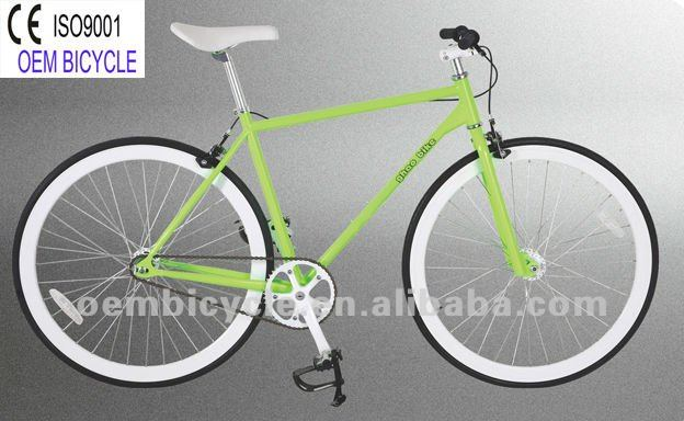 700C single speed upright fixie fixed gear track bike