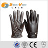 Sunnyhope goat skin gloves, motorcycle driving gloves leather,touch screen gloves