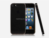 Ultra-thin slim tpu case for iphone 5/5s,MADE IN CHINA phone case plain tpu cover for iphone 5s