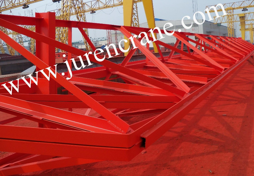 3 ton-32 ton single girder truss frame gantry crane with electric hoist