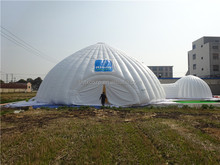 Outdoor large inflatable igloo tent for party ,advertising ,wedding on sale